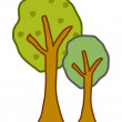 Stock Vector: Vector tree