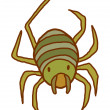 Royalty-Free Stock Vector Image: Vector spider