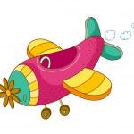 Vector plane — Stock Vector #13462789