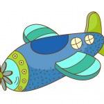 Vector plane — Stock Vector #13462795