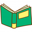 Book Vector Illustration — Stock Vector