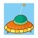 Alien Vector Illustration — Stock Vector #13462940