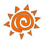 Sun Vector Illustration — Stock Vector #13463108