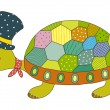 Turtle Vector Illustration - Stock Vector