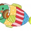 Vector Fish - Imagen vectorial