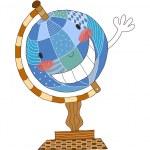 Vector Globe — Stock Vector