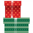Vector gift boxes — Stock Vector #13467321