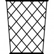 Vector wastebasket - Stockvektor