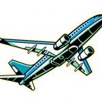 Vector Airplane. — Stock Vector