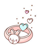 Baby ring — Stock Vector