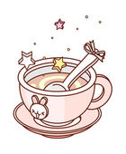 Cup of tea — Stockvector