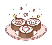 Cakes — Wektor stockowy