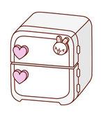 Refrigerator — Stock Vector