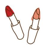 唇膏 — 图库矢量图片