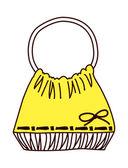 Yellow bag — Stock Vector