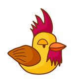 Vector chiken — Stock Vector
