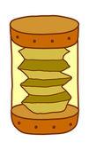 SandClock Vector Illustration — Stock Vector