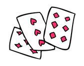 Card Vector Illustration — Stock Vector