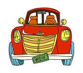 Car Vector Illustration — Stock Vector