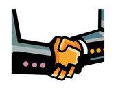 Handshake Vector Illustration — Stock Vector