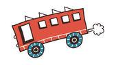 Bus Vector Illustration — Stock Vector