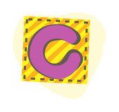вектор буква c — Cтоковый вектор