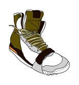 Vector sneakers. — Stock Vector
