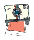 Vector Polaroid — Vetor de Stock