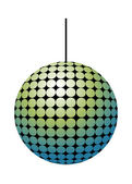 Vector Disco Ball — Stock Vector