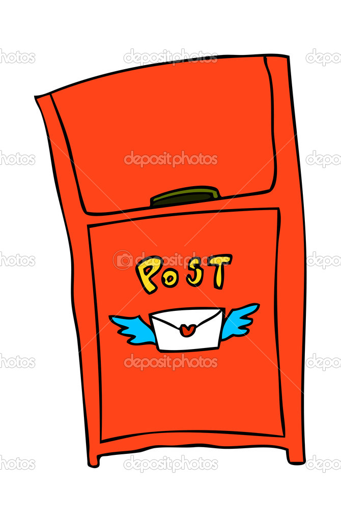 Mail Box Vector Illustration — Imagen vectorial #13463110