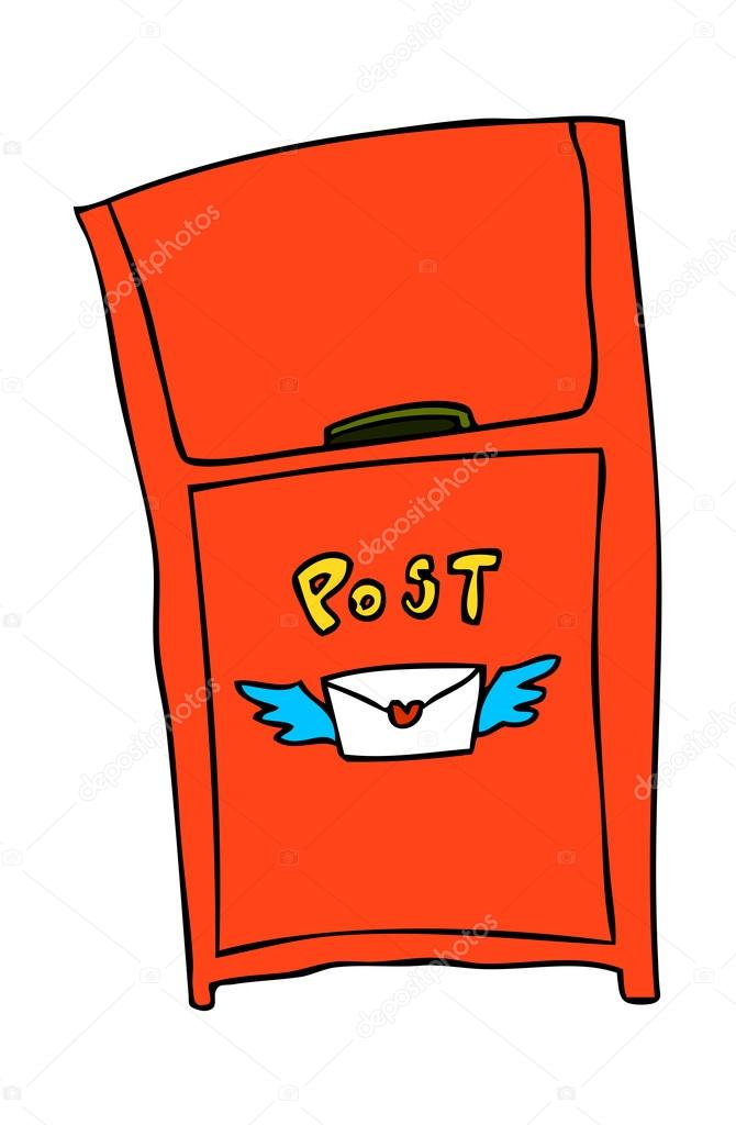 Mail Box Vector Illustration — Stok Vektör #13463110