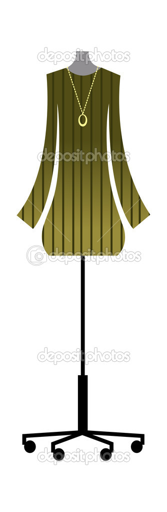 Vector dress  Stock Vector #13467926