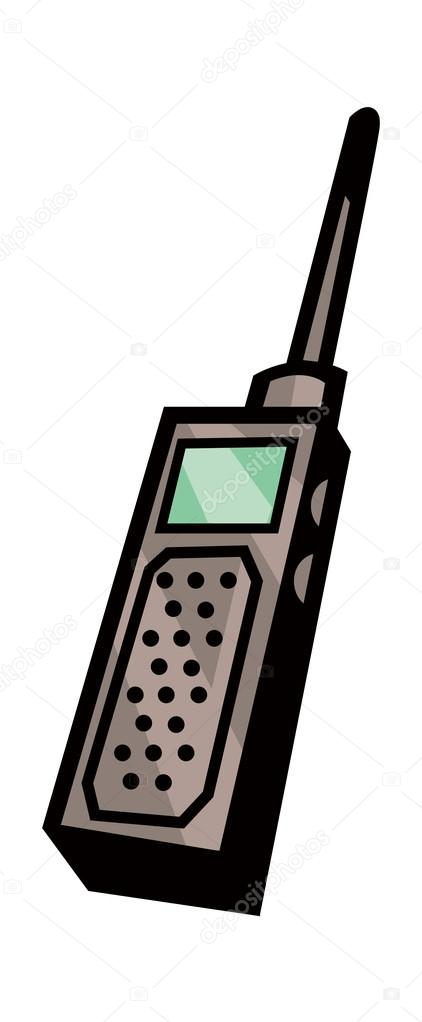 Vector walkie talkie. — Stock Vector © zzve #13467957