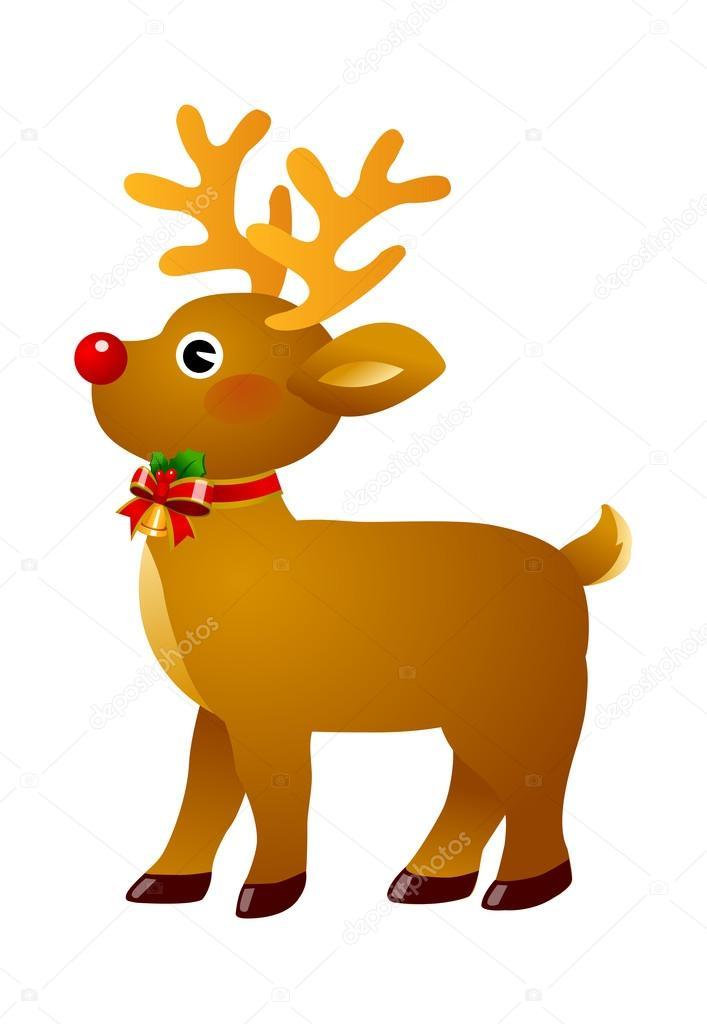 圣诞驯鹿 — 图库矢量图像08