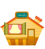 Wooden house — Stock Vector