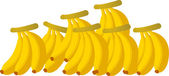 Bananas — Stock Vector