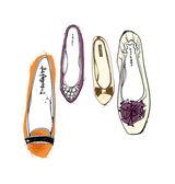 Women's shoes — Vettoriale Stock