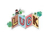 Luck sign — Stock Vector
