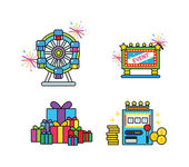 Set of Holiday icons — Stock Vector