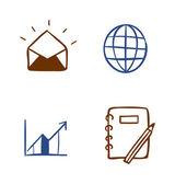 Conjunto de iconos diferentes — Vector de stock