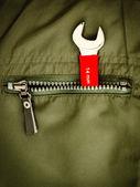 Bir cebinde anahtarı — Stok fotoğraf
