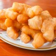 Stock Photo: Chinese fried bread donuts