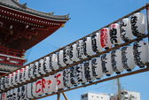 Lanterns on Asakusa Sensoji Temple — Foto de Stock