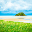 Tropical island beach in Thailand — Foto de Stock