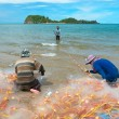 Thai Fishermen — Stock Photo