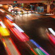 Night speed traffic — Stock Photo