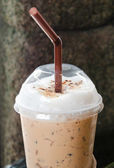 Iced Cappuchino coffee — Stock Photo