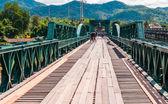мемориальный мост в городе pai, мэхонгсон, таиланд — Стоковое фото