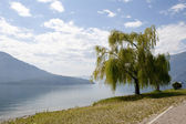 A view of the lake of Como in Italy — Stock Photo