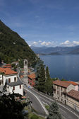 Argegno by the lake of como in Italy — Stok fotoğraf